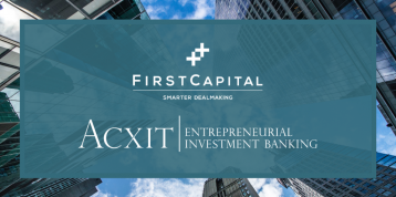 FirstCapital announces strategic partnership with ACXIT
