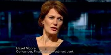 Hazel Moore BBC Newsnight Interview